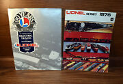 Lot Of 2 90 Years O Gauge Trains And Lionel 0/027 1976 Booklets..
