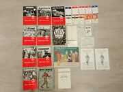 Lot Of Vintage 1960s Boy Scout Handbook Badge Books Paper Items