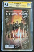 Agents Of Shield Complete Cast Signed 12x Cgc Ss 9.8 All New X-men 19 Tv Sdcc
