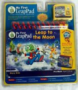 My First Leap Pad Leap Frog Book And Cartridge Leap To The Moon Preschool New
