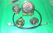 Massey Harris 50 Ferguson 50 Tractor Tachometer And Guages Kit With Tacho Cable