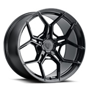 22andrdquo Flow Forged Bd-f25 Gloss Black Wheels For Tesla Model X S 22x9 And 22x10.5