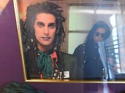 Janes Addiction Perry /farrelland039s Owned And Worn Scarf Framed Approx 18x22 Brf