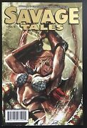 Savage Tales 3 Gold Variant Red Sonja 2007 Comic Book With Coa