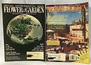 Lot Of 16 Vintage Magazines Flower And Garden 1990and039s Gardening Ideas Tips 31