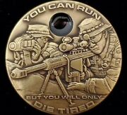 The Real Sniper Scope Coin Police Swat Seals Rangers Made In Usa Nwtm