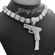 37 Rip Mary Pendant And 16 18 Full Iced Choker Bust Down Chain Hip Hop Necklace