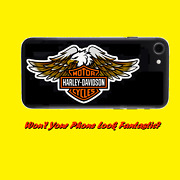 Gorgeous Large Harley Davidson Eagle Stickers For Your Phone