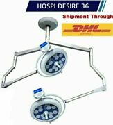 New Led Operating Light Surgical Operation Theater Lamp Double Dome Ceiling Lamp
