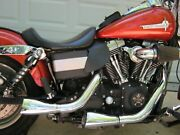 Harley Dyna Chrome Racingandnbsp Exhaust Lightlyandnbsp Used 3000 Miles.
