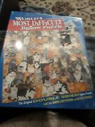 Cats Worlds Most Difficult Jigsaw Puzzle 529 Double Sided Pieces Buffalo Games
