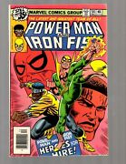 Power Man And Iron Fist 54 Nm Marvel Comic Book Heroes For Hire Key Cage Rb8