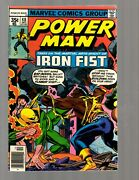 Power Man 48 Vf Marvel Comic Book Heroes For Hire Key Cage Iron Fist Rb8