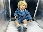 Monika Peter Lightweight Artistic Doll Resin Doll 22 13/16in Top Condition