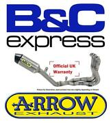 Bmw S1000r 2015 15 Arrow Full Titanium Competition Race Exhaust System