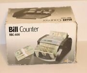 Royal Sovereign Rbc-600 Electric Bill Counter