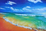 The Sea Of Lost Ships Original Oil Painting On Canvas 24x36 Ready To Hang