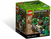 Lego Minecraft Micro World The Forest 21102 Building Set New Steve And Creeper