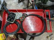 Mercury Mercruiser Controls With Wiring Harness Concealed Mount W/ Cables Trim