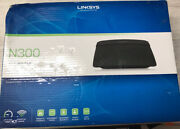 ✅linksys E1200 N300 Wireless Router - Black Wifi Destroyed Box