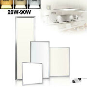 1x4 2x2 2x4ft 20w-90w Led Troffer Panel Light Recessed Dropped Ceiling Fixture