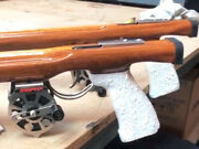 High Quality Handcrafted Woodengun Open 110 Triple Speargun 50mm