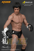 Bruce Lee Chinese Kung Fu Promoter 1/12 19cm Pvc Figure Model Toy Collection New