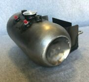Usa Made Hollow Point Custom Oil Tank W/battery Tray For Harley And Custom