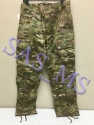 Multicam Flame Resistant Army Combat Pants W/crye Precision Knee Pad Cut Sl Nwt