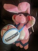 Vintage Energizer Bunny Plush Promotional Display 1996 23-24'' Excellent Cond