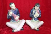 Chinese Praying Porcelain Figure Old Vintage Decorative Christmas Gifts Ph-34