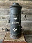 Vintage Coleman Lamp And Stove Co. Water Heater Coleman Collectibles