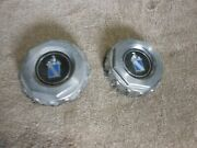 Buick Regal Center Caps Q.t.y. 2 Fair Condition Awesome///////
