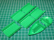 Tente Exin Mar Complete Lower Hull Green 7 Piece Condition Vintage