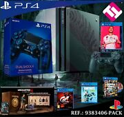 Ps4 Playstation 4 Pro 1tb The Last Of Us Uncharted Gt Fornite Gtav Fifa 2 Knobs