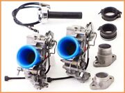 1994 900ss Sl M900 Carburetor Set 39mm Cleaned W/ High Throttle And Short Manifold