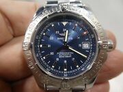 Breitling Colt 2 Automatic A17380 Aeromarine Menand039s Watch Box And Papers