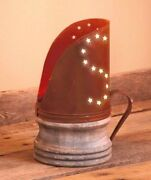 Country Farmhouse Home Decor Rustic Old Fashion Tealight Holder