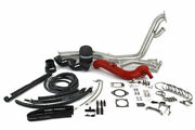 Perrin Performance Red Rotated Turbo Tuner Kit With Intake For Garrett Turbos
