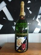 Empty Piper Heidsick Champagne Bottle Commerating Thomas Kramers Club Hell Miami