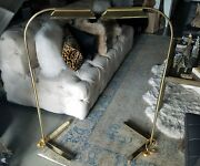 Pair Of 1970and039s Modernist Casella Lighting Touch Floor Lamps Restored Rewired