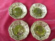 4 Poole Old English Nut Dishes Weighing 3 Troy Ounces