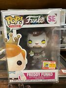 Funko Pop - Freddy Funko As Pennywise Sdcc 2018 Exclusive Le4000 Authentic