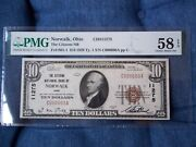 1929 10 Norwalk Ohio Oh National Currency T1 11275 Citizens National Bank