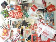 Vintage Lot Of Coca Cola Assorted Advertising And Promo Collectibles 1940s - 1990s