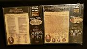 New Historic Documents From The Past 18x 24 750pc. Jigsaw Lot Of 2 Puzzles