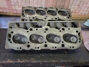 1966gm Big Block Chevy Large Oval Port Heads 3872702 396 325hp 360hp 427/390hp