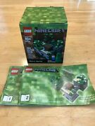 Lego Minecraft Set 21102, 100 Complete With Box And Instructions