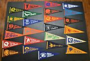 25 Nfl Team Pennants From 1975 Packers Bears Cowboys Chiefs Patriots And More 12