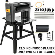 12.5 Inch Wood Planer Foldable Thickness Planer For Woodworking 1500w With Stand
